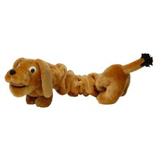 <strong>Kyjen</strong> Plush Puppies Bungee Wiener Dog Toy