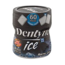 Dentyne Ice Sugarless Gum, Artic Chill, 60 Pieces/Pack, 4 Packs/Box