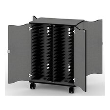 34-Compartment Solutions Laptop Charging Cart
