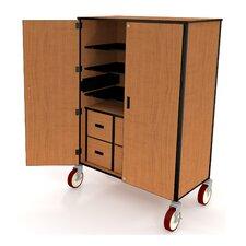 "Organizer 48"" Mobile Storage Cabinet"