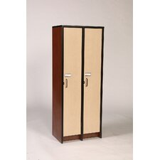 "<strong>Fleetwood</strong> 60"" H Two Unit Laminate Locker"
