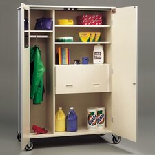 Deluxe Teacher Cabinet with Casters