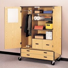 <strong>Fleetwood</strong> Storage Cabinet with File Drawers and Shelving