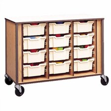 Storage Cabinet with Optional Trays