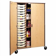 "<strong>Fleetwood</strong> 72"" H Storage Cabinet with Shelving and Optional Trays"