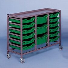 <strong>Fleetwood</strong> Triple Column Mobile Storage Cart