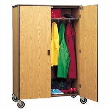 "<strong>Fleetwood</strong> 72"" H Student Wardrobe Cabinet with Locking Doors"