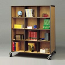 Double Sided Cabinet with Cubbies