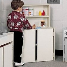 Koala-Tee Play Kitchen Hutch and Cupboard