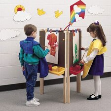 Koala-Tee Adjustable Triple-Sided Easel