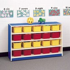 Koala-Tee 24 Compartment Mobile Storage Cabinet with Optional Trays