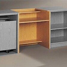 Library Modular Front Desk System - Standard Computer Station