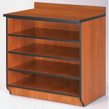 "<strong>Fleetwood</strong> Illusions 36"" H Base Shelf Cabinet without Doors"