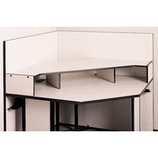 Solutions Corner Table Riser Shelf