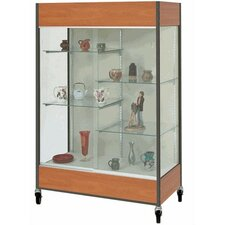 <strong>Fleetwood</strong> Mobile Trophy and Art Display Case with Half Width Shelves