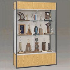 <strong>Fleetwood</strong> Trophy and Art Display Case with Full Width Shelves