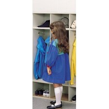 4-Section Children's Coat Locker