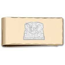 NCAA Logo Gold Plated Money Clip