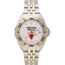 NBA Men's All Star Bracelet Watch with Team Logo Dial