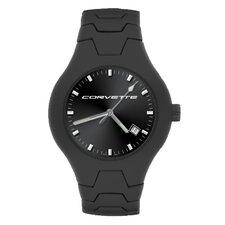 GMC Corvette Men's Black Champion Watch