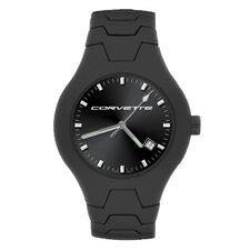 GMC Corvette Men's Black Champion Watch