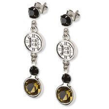 NHL Logo Crystal Earrings