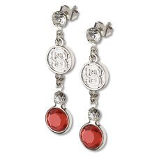 NCAA Logo Crystal Earrings