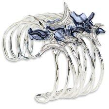 NFL Celebration Silvertone Bracelet