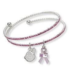 MLB 2013 Breast Cancer Awareness Support Charm Bracelet