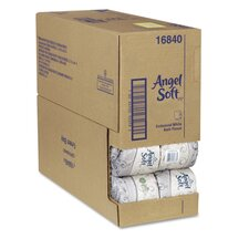 Angel Soft Performance Premium 2-Ply Bathroom Tissue - 450 Sheets per Roll / 40 Rolls