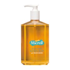 Antibacterial Lotion Soap Pump Bottle in Amber