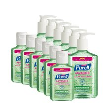 2 oz. and 8 oz. Aloe Hand Sanitizer (Set of 12)