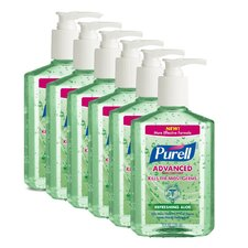 <strong>Purell®</strong> 8 oz. Aloe Hand Sanitizer (Set of 6)