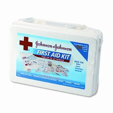 Johnson and Johnson Cross Professional/Office First Aid Kit for 25 People, 158 Pieces