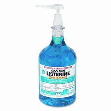 <strong>Listerine</strong> Johnson and Johnson Cool Mint Mouthwash, 1-Gal.