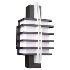 Carre 1 Light Outdoor Wall Lantern