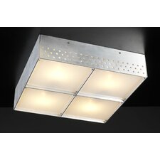 <strong>PLC Lighting</strong> Aeon 4 Light Flush Mount