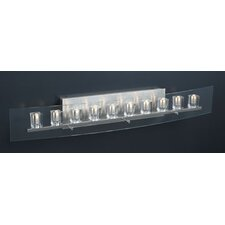 <strong>PLC Lighting</strong> Ice Cube 10 Light Vanity Light