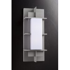<strong>PLC Lighting</strong> Decora 1 Light Outdoor Wall Sconce