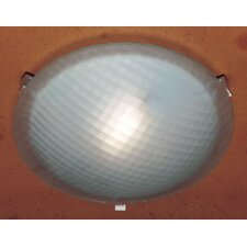 <strong>PLC Lighting</strong> Nuova 1 Light Flush Mount