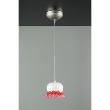 <strong>PLC Lighting</strong> Jelly Fish 1 Light Mini Pendant