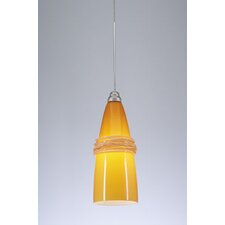 <strong>PLC Lighting</strong> Visage 1 Light Mini Pendant