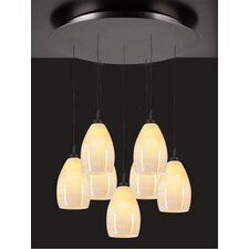 <strong>PLC Lighting</strong> Daisy 7 Light Mini Pendant