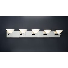 <strong>PLC Lighting</strong> Matrix 5 Light Vanity Light