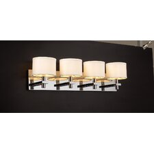 <strong>PLC Lighting</strong> Concerto 4 Light Vanity Light