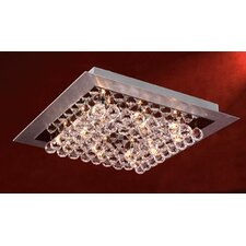 <strong>PLC Lighting</strong> Petula Semi Flush Mount