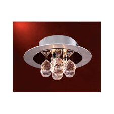 <strong>PLC Lighting</strong> Bolero 3 Light Semi Flush Mount