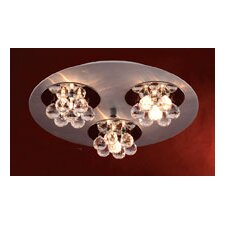 <strong>PLC Lighting</strong> Bolero 9 Light Semi Flush Mount
