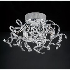 <strong>PLC Lighting</strong> Bellegloire 14 Light Semi Flush Mount