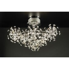 Firework 36 Light Semi Flush Mount
